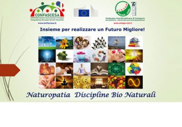 Presentazione Certificazione Professionale Naturopatia e Discipline BioNaturali